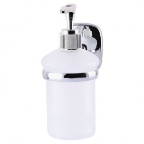 RM 1401 Дозатор жидкого мыла стеклянный матовый Globus Lux