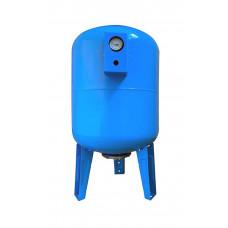 Гидроаккумулятор 100л VOLKS pumpe 10bar вертикальный с манометром