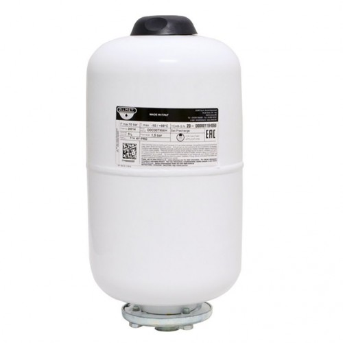 Гидроаккумулятор cо сменной мембраной 5л ZILMET HY-PRO 10bar, белый