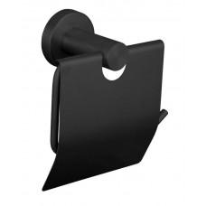 Держатель для туалетной бумаги с крышкой Нержавейка Globus Lux BS8410