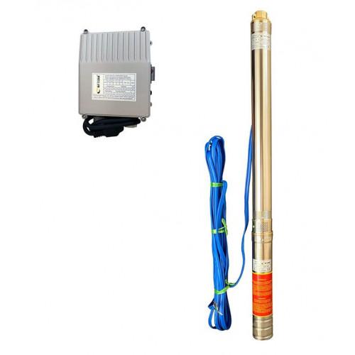 Скважинный насос OPTIMA 3SDm1.8/21 0.55кВт 85м + пульт + кабель 15м
