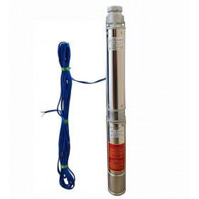 Насос скважинный OPTIMA PM 4QJm4/11 0.75кВт 81м + кабель 15м, со встроенным конденсатором (без пульта)