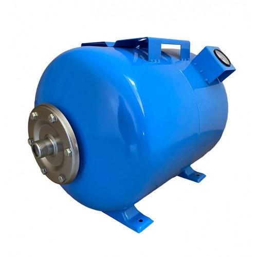 Гидроаккумулятор 50л VOLKS pumpe 10bar горизонтальный с манометром
